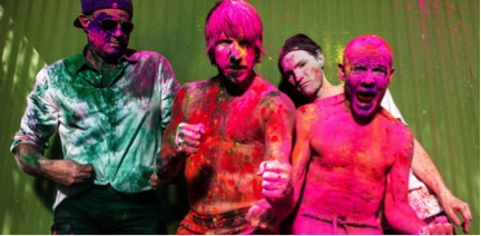 Red Hot Chili Peppers Announce First Tour In Five Years