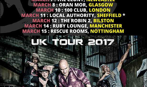 Dan Reed Network Announce March 2017 Tour